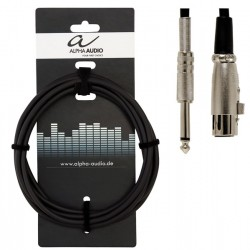 Alpha Audio Cable Micro Jack XLR 6 Metros