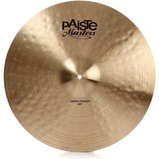 PAISTE Crash 20 Masters Dark