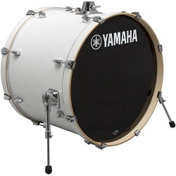 "Yamaha Stage Custom Birch Bombo 22x17"" Pure White"