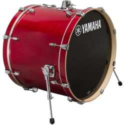 "Yamaha Stage Custom Birch Bombo 18x15"" Cranberry Rojo"