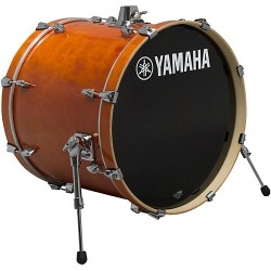 "Yamaha Stage Custom Birch Bombo 18x15"" Honey Amber"