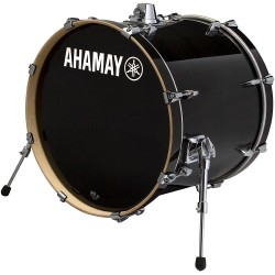 "Yamaha Stage Custom Birch Bombo 24x15"" Raven Black"