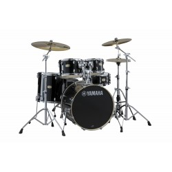 Yamaha Stage Custom Birch Standard Raven Black + HW680W