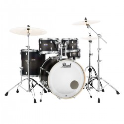 Pearl Decade Maple Fusión Satin Slate Black