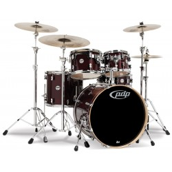 PDP by DW Concept Maple CM5 Transparent Cherry