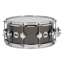 DW Collector Black Nickel Over Brass 14x5.5""