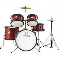 Jinbao Drumset Junior JBJ1046R Red Wine