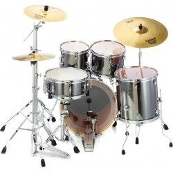 Pearl Export Fusion 2 EXX725S Smokey Chrome