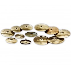 PAISTE Set Platos Nicko McBrain Treasures Kit de Platos Tour