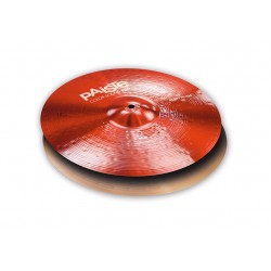 "Paiste Hi Hat 14"" 900 Color Sound Rojo Heavy"