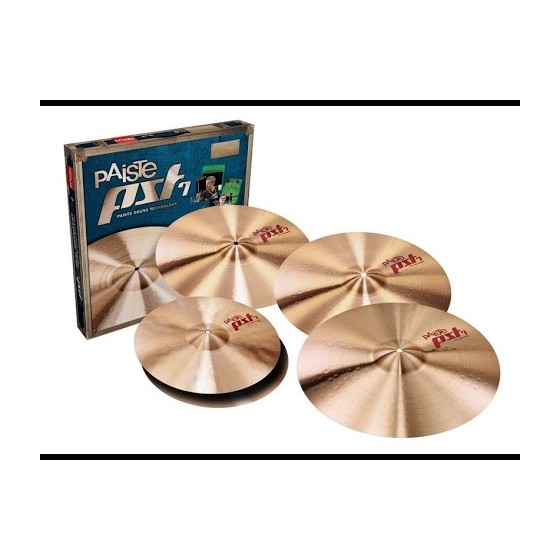 PAISTE Set Platos PST7 Light + Crash 18
