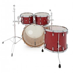 Pearl Masters Maple Complete Studio Red