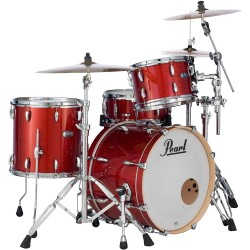 Pearl Masters Maple Complete Big Rock Red