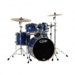 PDP by DW Concept Maple CM5 Standard Blue Sparkle