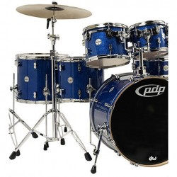 PDP by DW Concept Maple CM6 Blue Sparkle