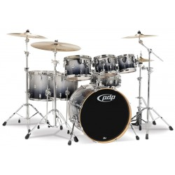 PDP by DW Concept Maple CM7 Silver Black Sparkle