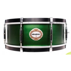 "NP Snare Drum Arahal 15"" Green"