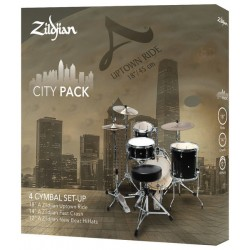 Zildjian Set Platos A Zildjian City Pack