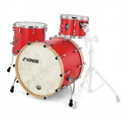 Sonor SQ1 324 Set NM HRR Hot Rod Red