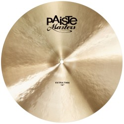 "Paiste Crash 19"" Masters Extra Thin"