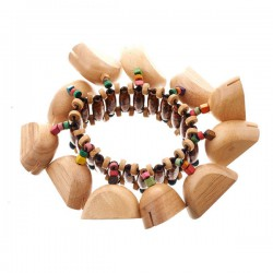 Toca T-WRA Chime Wood Foot Rattle
