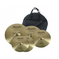 Amedia Set Platos Classic + Crash 18