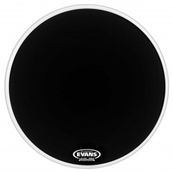 "Evans 22"" EQ1 Resonant Black BD22RA"