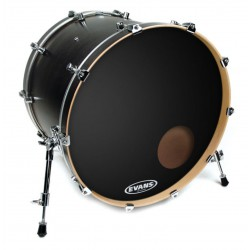"Evans 20"" EQ3 Reso Black BD20RB"