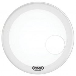 "Evans 24"" EQ3 Coated White BD24RGCW"