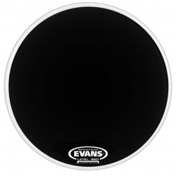 "Evans 22"" Resonant Black BD22RBG"