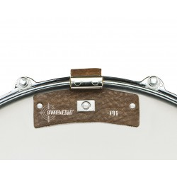 Snareweight M1B Brown Overtone Damper