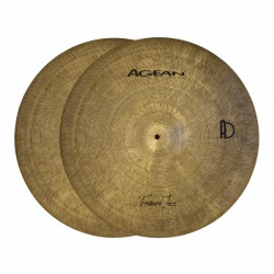 "Agean Hi Hat 15"" Treasure Jazz"