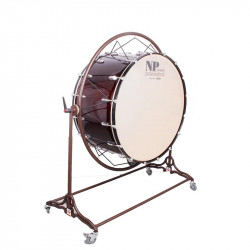NP Bass Drum Concert Cover Chrome 80x50 cms