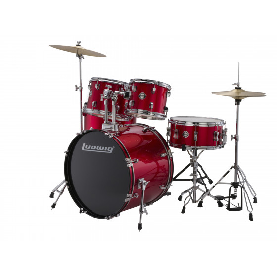 Ludwig Bateria Accent Fuse LC170 Red