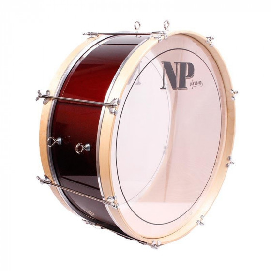 NP Bass Drum 50x25 Red Wine