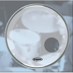 "Evans 18"" EQ3 Reso Smoth White BD18RSW"