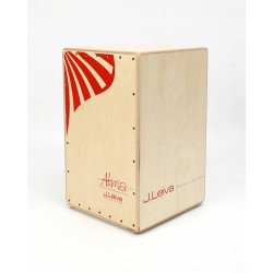 LEIVA PERCUSSION Cajon Alma Red