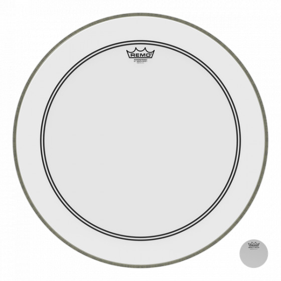 """Remo 22"""" Powerstroke 3 Clear P3-1222-C1"""
