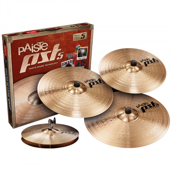 Paiste Set Platos PST5 Universal Set + Crash 18
