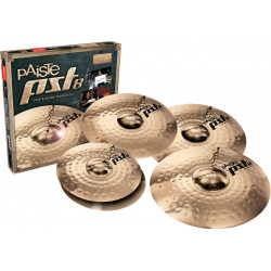 Paiste Set Cymbals PST8 Rock + Crash Ride 18""""