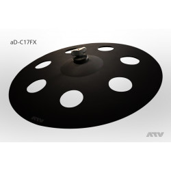 ATV aD-C17FX Artist Crash O-Zone 17""
