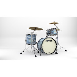 Tama MR30CMBNS-BWO Starclassic Maple Blue and White Oyster / Black Nickel Hardware