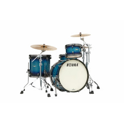 Tama MA32CZBNS-MEB Starclassic Maple Molten Electric Blue Burst / Black Nickel Hardware