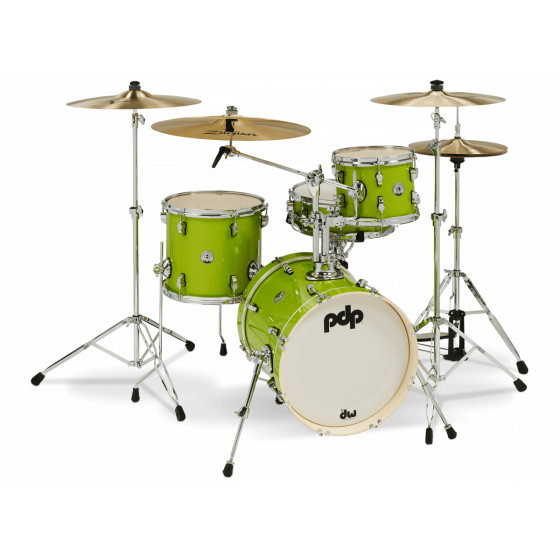 PDP New Yorker Set Electric Green Sparkle