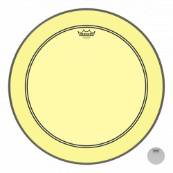 "Remo 22"" Powerstroke 3 Colortone Yellow P3-1322-CT-YE"