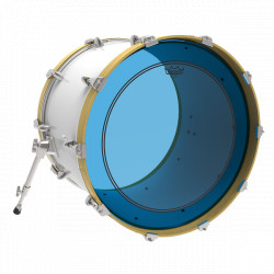 "Remo 18"" Powerstroke 3 Colortone Blue P3-1318-CT-BU"