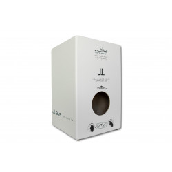 Leiva Percussion Cajón Zoco 2.0 White