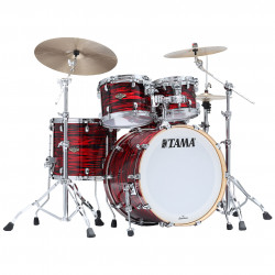 Tama Starclassic Maple Standard Red Oyster (Black Nickel)