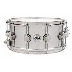 DW Snare Stainless Steel 14x6.5