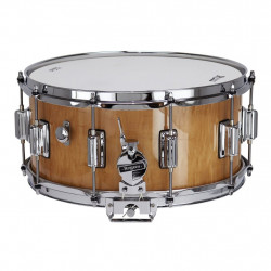 """Rogers Dyna-Sonic Wild wood Curly Maple 14x6.5"""""""